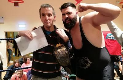 Wresting fun for Cabrini Residents