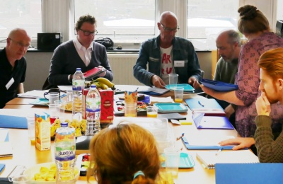 GALA project partners' steering group meeting at Diagrama Foundation, Kent