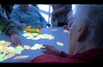 Embedded thumbnail for Edensor Care Centre transforms dementia care with Tovertafel light technology