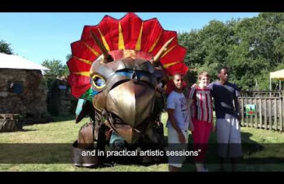 Embedded thumbnail for Cabrini House residents enjoy arts festival in France
