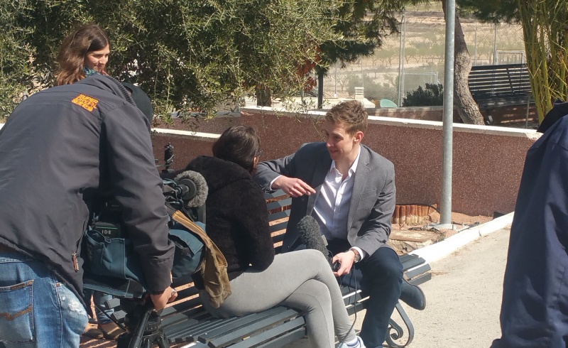 BBC reporter Nick Beake visit's Diagrama's custodial centres in Spain