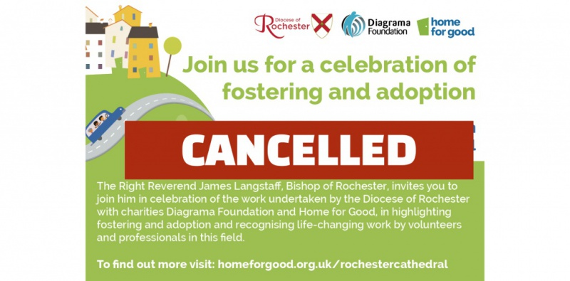 Cathedral celebration cancelled