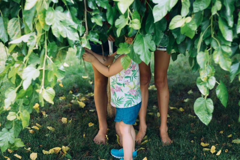 Siblings playing, Diagrama Adoption