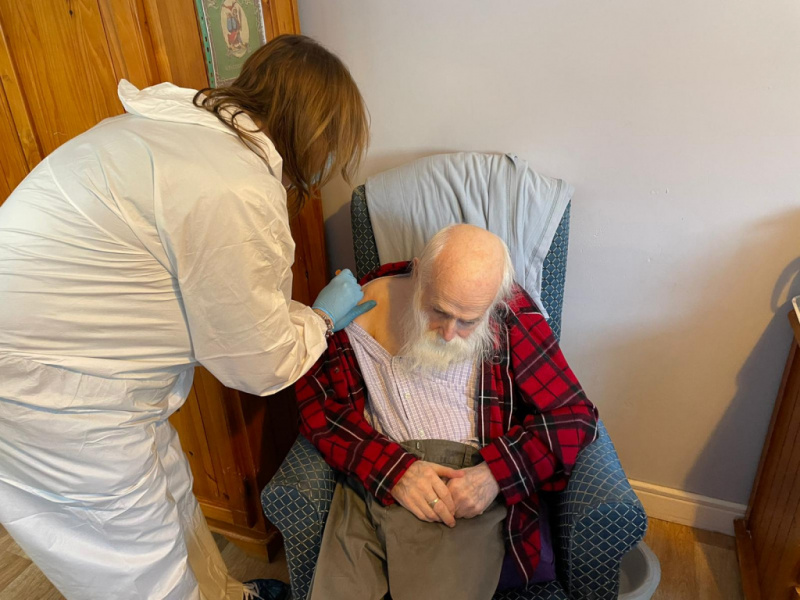 Edensor Care Centre Residents First In Region to Receive Coronavirus Vaccine