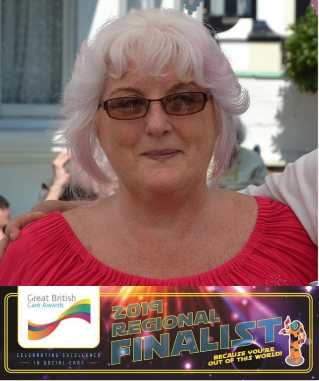 Diagrama's Taryna Great British Care Award nomination